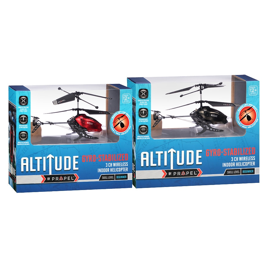 Altitude 3 Channel Indoor Helicopter With Gyro Assorted | Walgreens