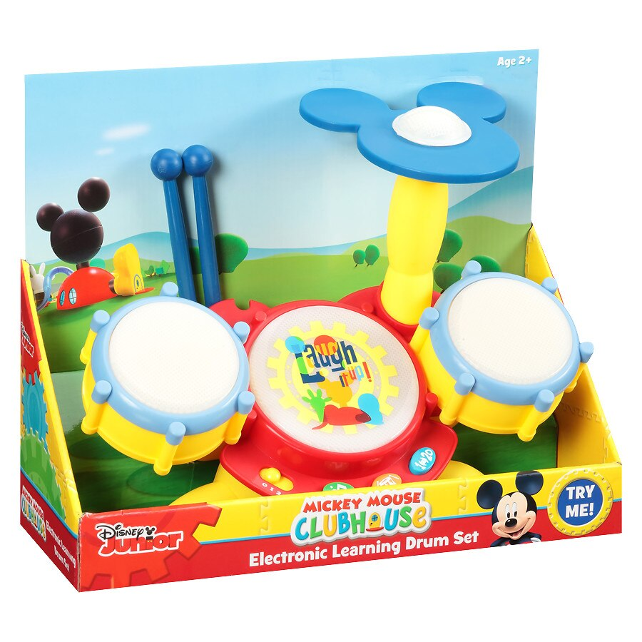 Walgreens Mickey Electronic Learning Drum Set1 0 Ea