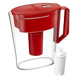 Brita 5 Cup Soho Pitcher Red 5 cup capacity