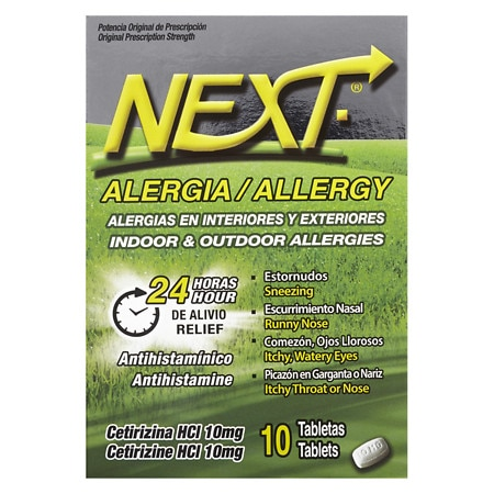 Next Allergy Tablets - 10 ea
