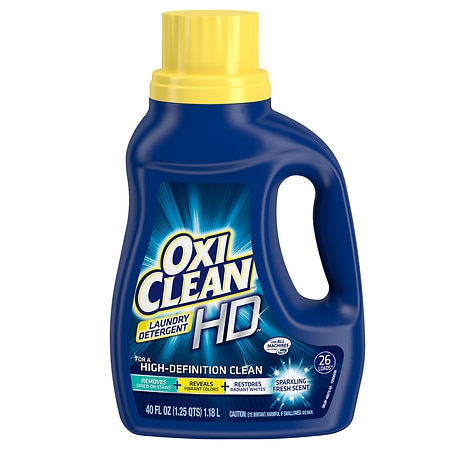 Oxiclean Hd Laundry Detergent Sparkling Fresh, 26 Loads 40 Oz.