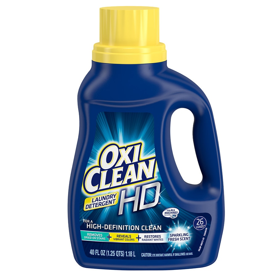graphic relating to Oxiclean Printable Coupon known as OxiClean High definition Laundry Detergent Glowing Contemporary, 26 Lots