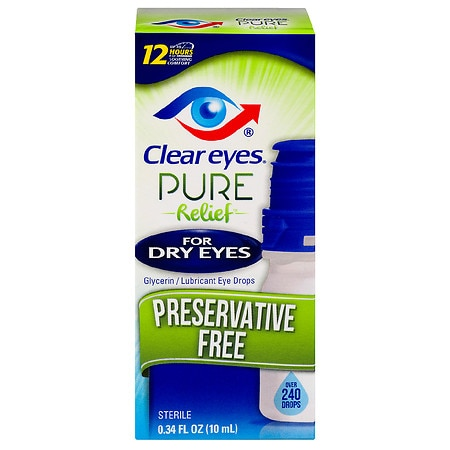 dry eye drops clear relief for drops walgreens 12337