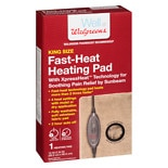 Walgreens Fast Heat Heating Pad