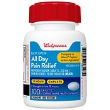 Walgreens All Day Pain Relief EZ Open Caplets