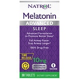 Natrol Advanced Sleep Melatonin 10 mg Time-Release Tablets