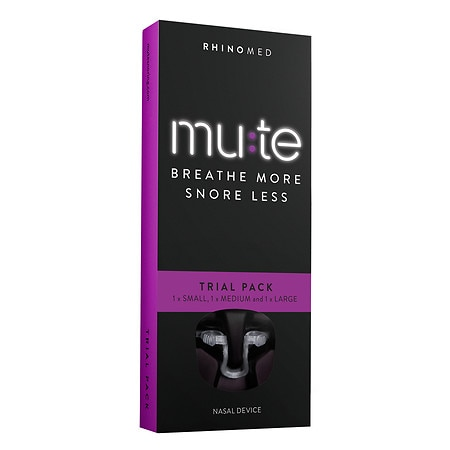 Mute Breathe More, Snore Less Trial (sm, Med, Lg) - 1 ea