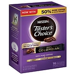 Nescafe Taster's Choice Instant Coffee Single Serve Packets Colombian