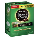 Nescafe Taster's Choice Instant Coffee Single Serve Packets Decaf House Blend