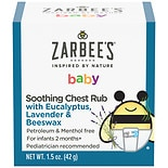 ZarBee's Naturals Soothing Baby Chest Rub