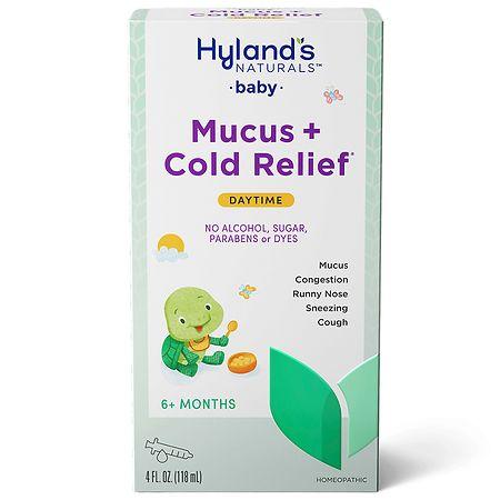 Hyland's Baby Mucus & Cold Relief Liquid - 4 oz.
