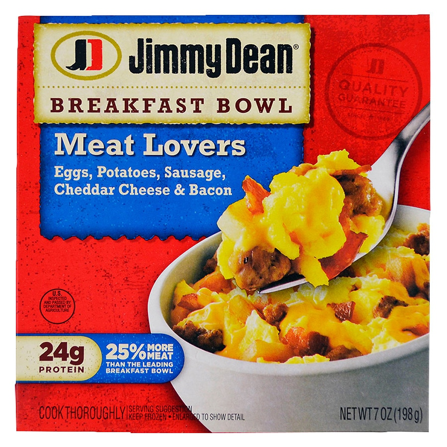 Jimmy Dean Breakfast Bowl Meat Lover's | Walgreens
