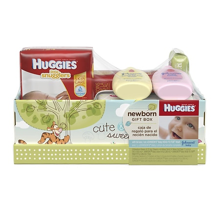 Huggies Diapers/Wipes/Wash/Lotion Gift Pack - 1 ea