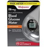 Walgreens True 2 Go Glucose Meter Metrix Black