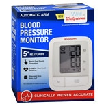 Walgreens Auto Arm Blood Pressure Monitor 2016