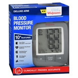 Walgreens Deluxe Arm Blood Pressure Monitor 2016