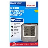Walgreens Deluxe Wrist Blood Pressure Monitor 2016