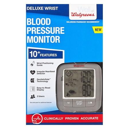 Walgreens Deluxe Wrist Blood Pressure Monitor 2016 - 1 ea