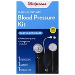 Walgreens Manual Inflate Blood Pressure Kit
