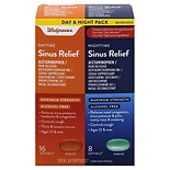 Walgreens Sinus Relief DM Maximum Strength Day/ Night Softgels