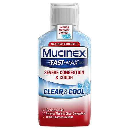 MucinexDM Clear & Cool Severe Congestion & Cough - 6 oz.
