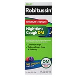 Robitussin DM Max Night Time Cough + Chest Congestion