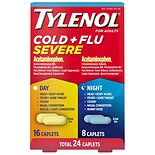TYLENOL Cold + Flu Severe Day & Night Caplets