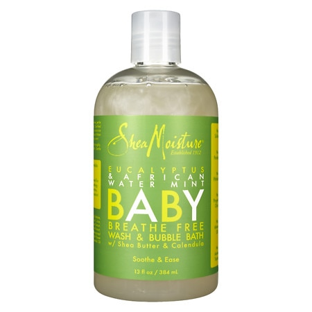 SheaMoisture Baby Breathe Free Wash & Bubble