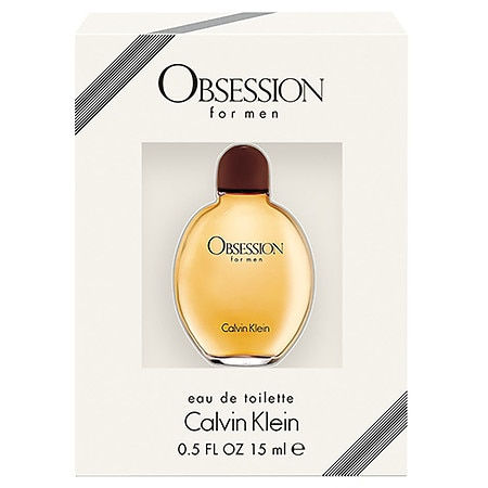 Calvin Klein Obsession Men's EDT - 0.5 oz.