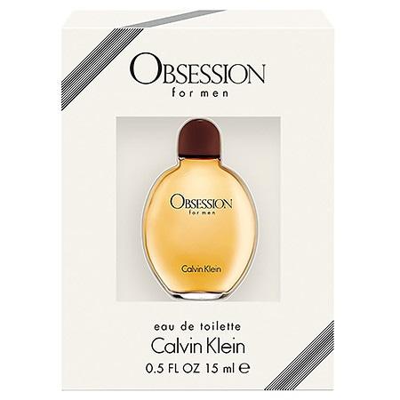 Calvin Klein Obsession Men's EDT - 0.5 oz.