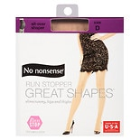 No Nonsense Great Shapes Run Stop Pantyhose D Beige Mist