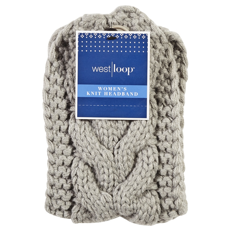 West Loop Ladies\' Cable Knit Ear Warmer Headband Assortment | Walgreens
