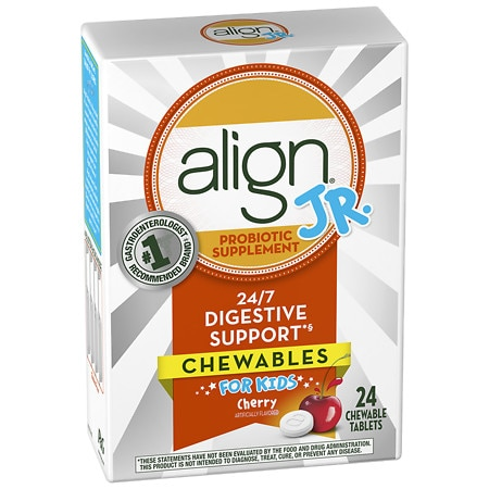 Align Probiotic Supplement Chewables for Kids Cherry Smoothie - 24 ea