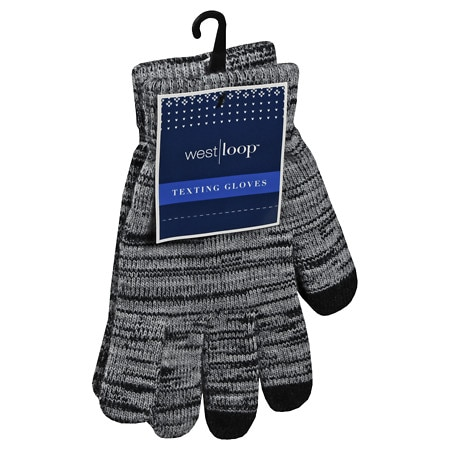 West Loop Texting Gloves Assortment - 1 pr