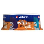 Verbatim DVD-R Spindle 98432 Assorted