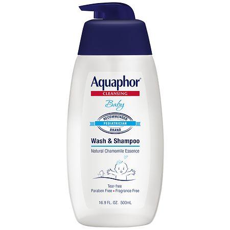 Aquaphor Baby Wash And Shampoo - 16.9 oz.