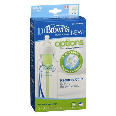 Dr. Brown's Options Bottles - 8 oz. x 2 pack
