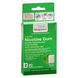 Walgreens Nicotine Gum Coated 2 mg Mint