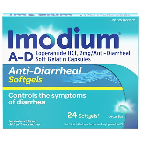 Side affects of imodium