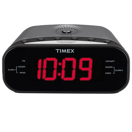Timex Dual Alarm Clock MP3 Line In T231GY - 1 ea