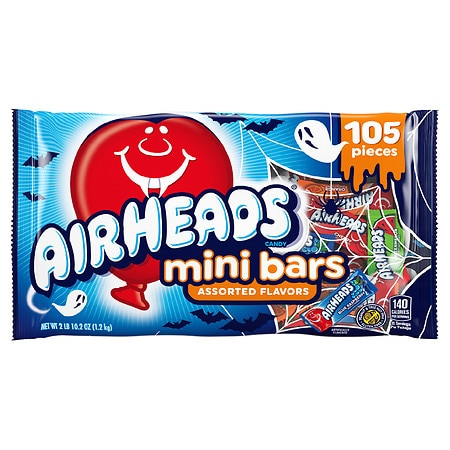 Airheads Minis Candy - 0.41 oz. x 105 pack