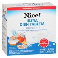Deals on 2 Nice Ultra Dish Tablets 20.0 oz