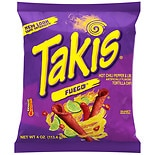 Takis Fuego Tortilla Chips Hot Chili Pepper & Lime