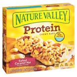 Nature Valley Protein Bars Salty Caramel Nut