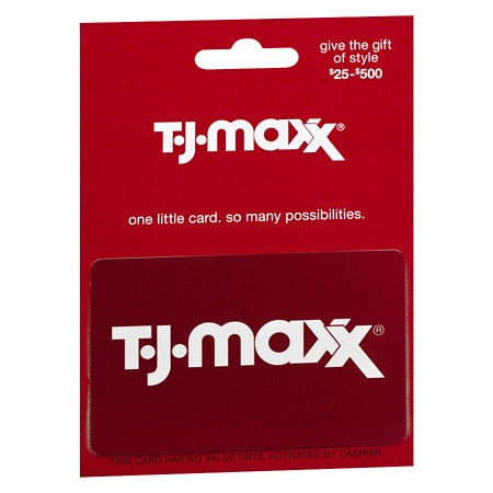 TJ Maxx Non-Denominational Gift Card | Walgreens
