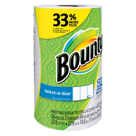 Bounty Select-A-Size Paper Towels - 84 sh