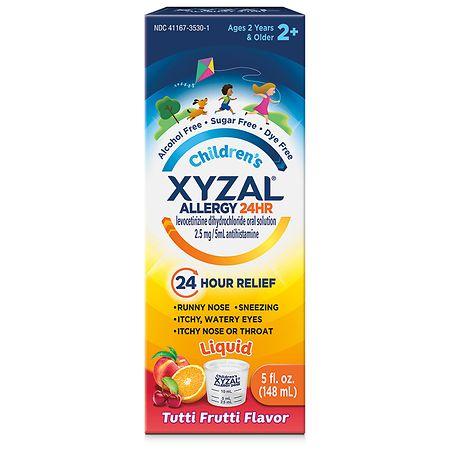 XYZAL Children's Oral Solution Tutti Frutti -