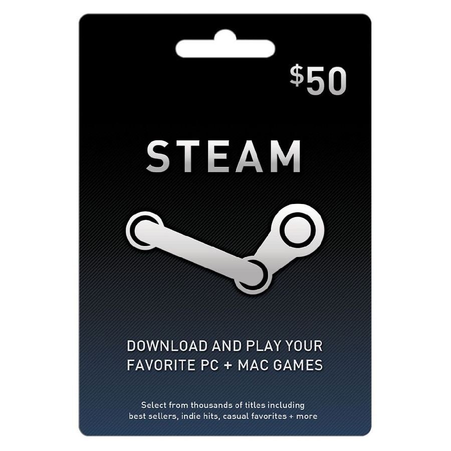 Steam Gift Card 50 Walgreens