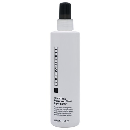 Image of Paul Mitchell Firm Style Freeze and Shine Super Spray, Firm Hold Style - 8.5 fl oz
