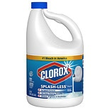 Clorox Bleach Liquid Splash Less Regular Original